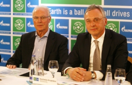 Franz Beckenbauer, embajador global