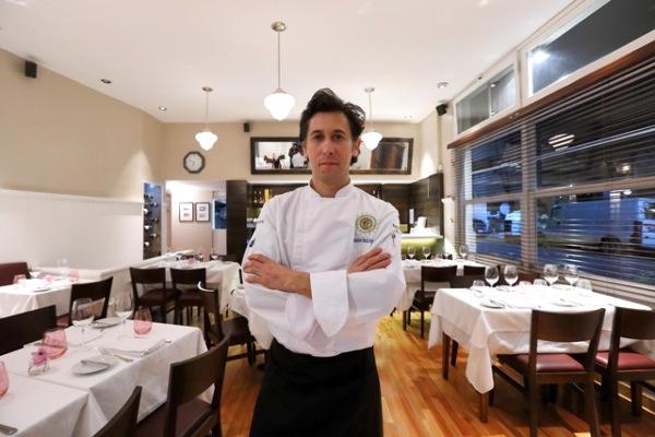 El chef Martin Rebaudino