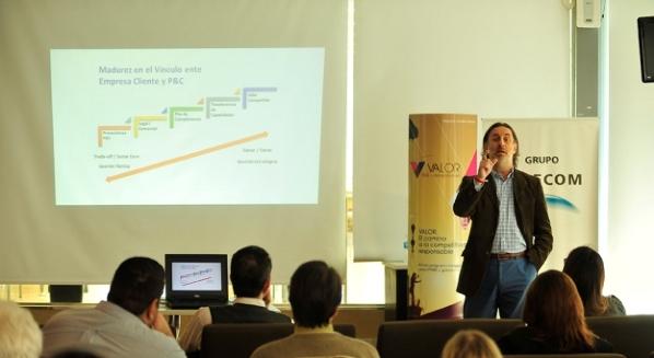 Fernando Passarelli, coordinador de Valor, RSE + Competitividad, de la AMIA