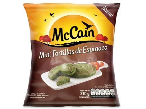 Mini Tortillas de Espinaca