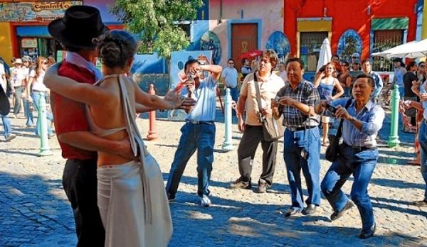 Turistas Chinos en Argentina