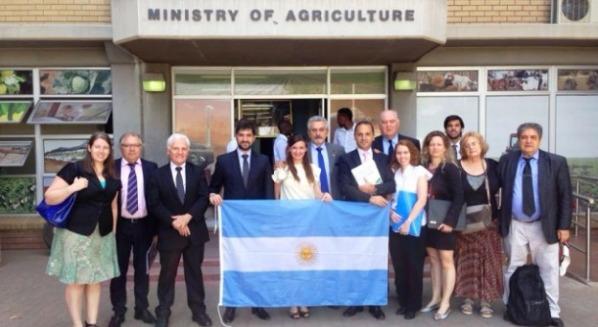 Comitiva argentina