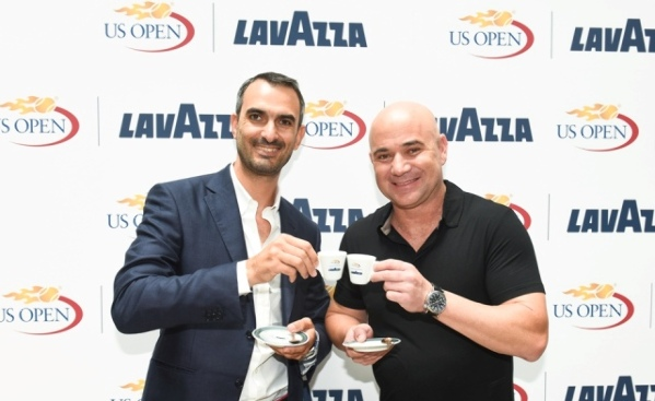 Lavazza y Agassi