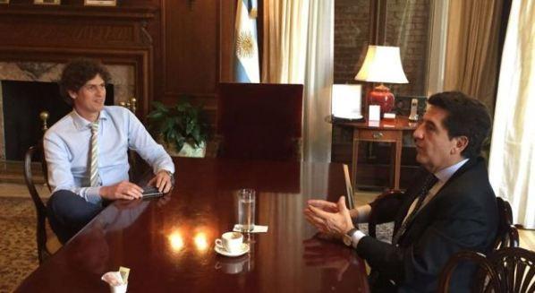 Carlos Melconian se reunió con Martín Lousteau en Washington DC