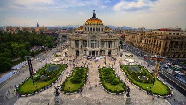 Palacio des Bellas Artes, Mexico