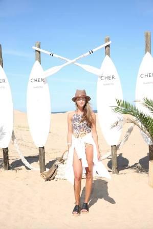 Celebrities en Playa CHER.