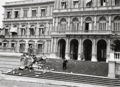 Bombardeos en Plaza de Mayo
