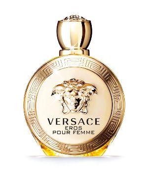 El precioso frasco del elixir Versace.