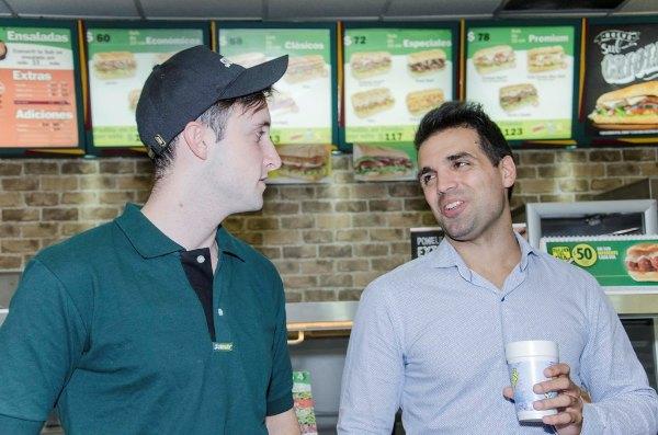 Subway y la comida sana