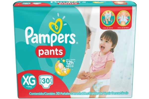 Nuevos Pampers Pants.