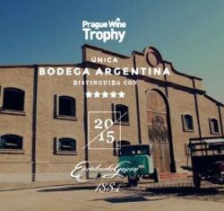 Prestigioso premio de la industria vitivinícola mundial.