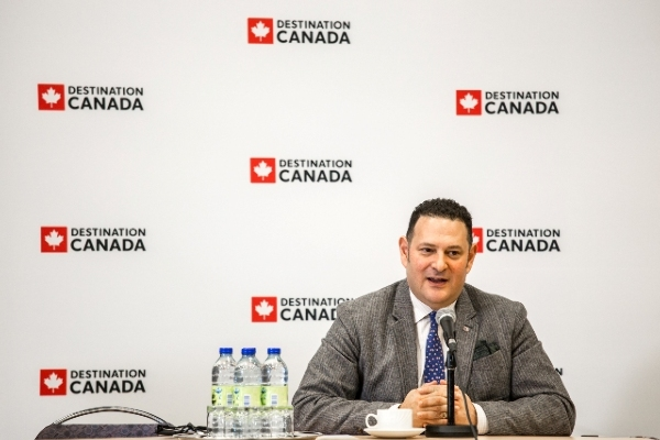 David Goldstein, presidente y CEO de Destination Canada