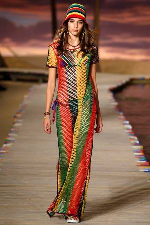 Tommy Collection en el Fashion Show de 2015.