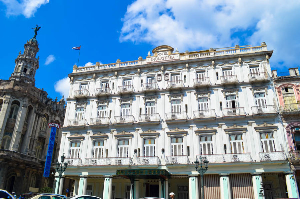 Hotel Inglaterra de la Habana