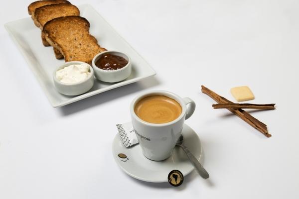 Cafecito en el desayuno