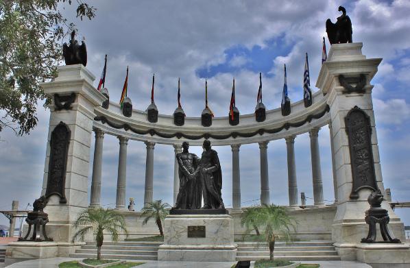 Monumento Encuentro San Martin y Bolívar