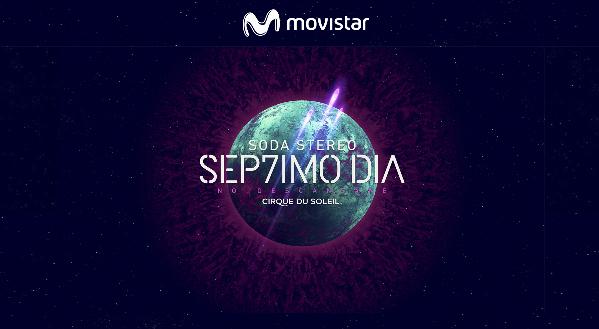 Movistar lanzó un concursos por entradas para Cirque du Soleil