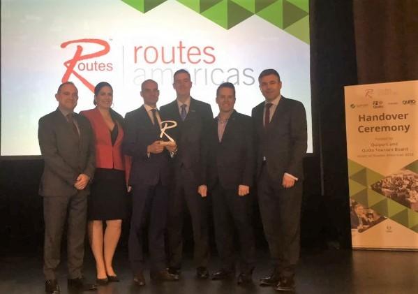 Quito elegida sede de Route Americas 2018