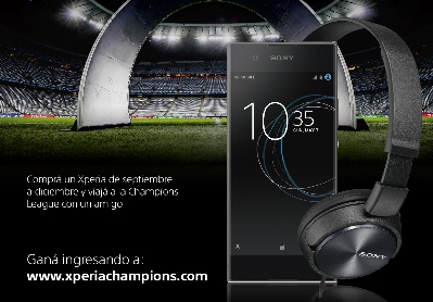 Sony Mobile y la Champions