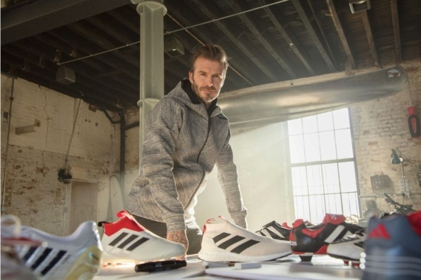 La relación entre Beckham y la marca