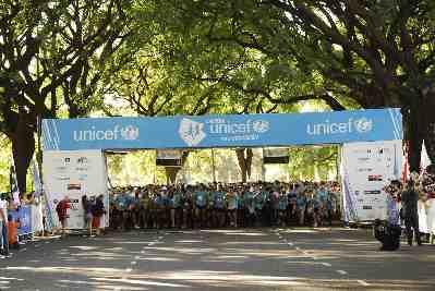 Se viene la carrera UNICEF por la Educación