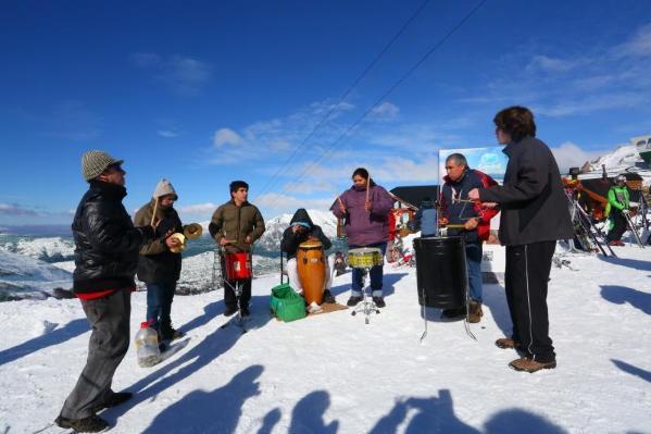 Nieve, montaña y arte
