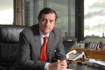Enrique Cristofani, presidente de Santander Río