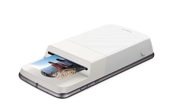 Un smartphone, una impresora
