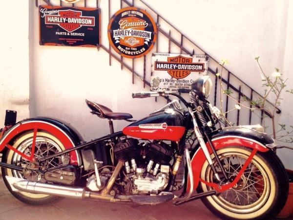 Harley-Davidson Flathead 1948