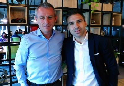Alejandro Muszak y Lucas Confalonieri