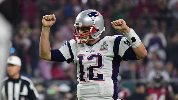 Tom Brady. Crédito: NFL