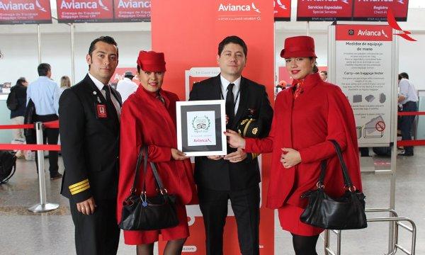 Premio para Avianca