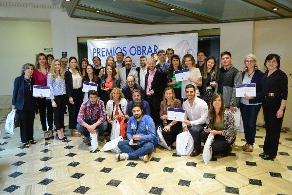 Ganadores de los Premios Obrar