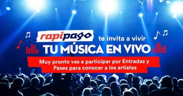 Rapipago pone música