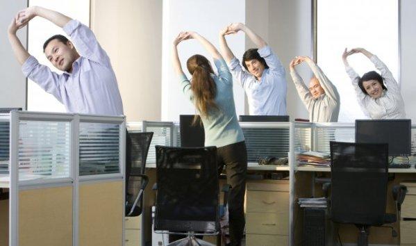 Actividades en la oficina