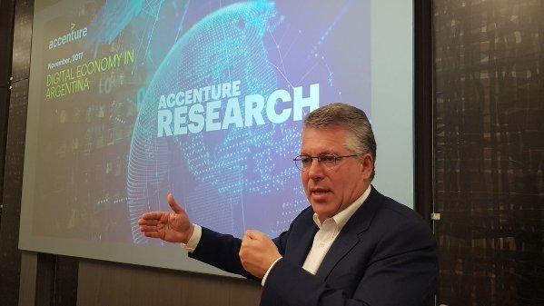 Sergio Kaufman, presidente de Accenture Argentina