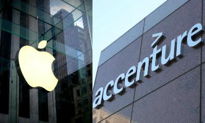 Apple y Accenture