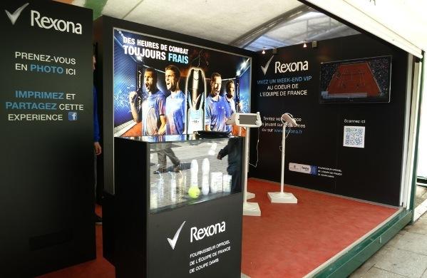 Rexona en Roland Garros