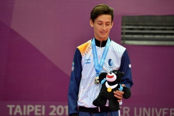 Medalla de Plata para Lucas Guzmán