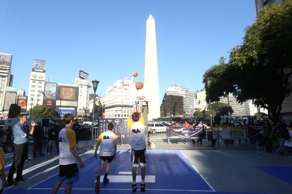 Clínica de básquet