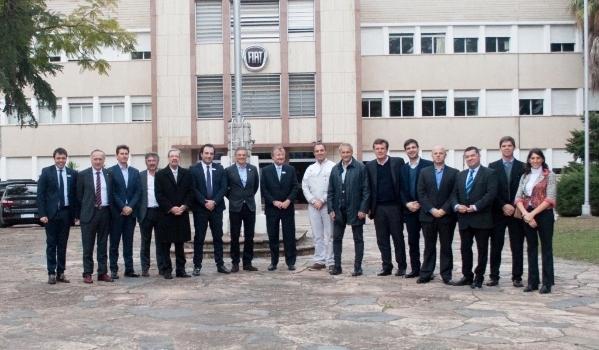 Francisco Cabrera visito FCA
