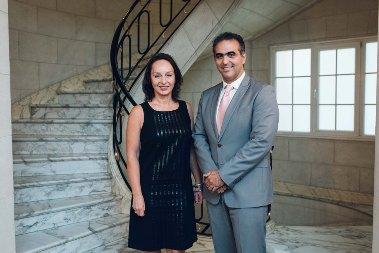 Barbara Konner y Pablo Di Si