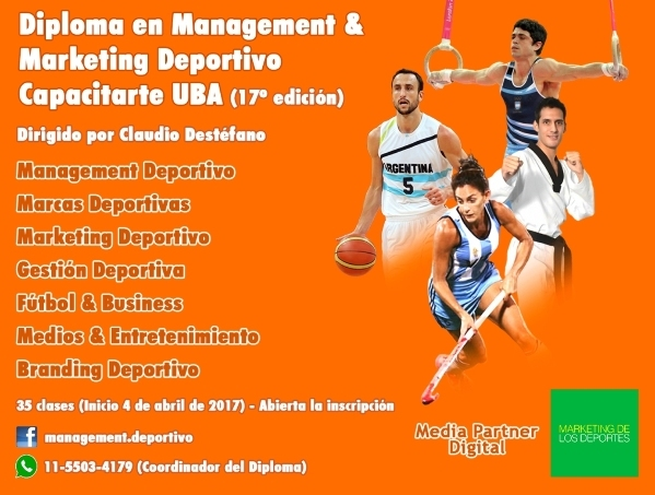 Diplomatura en Management & Marketing Deportivo