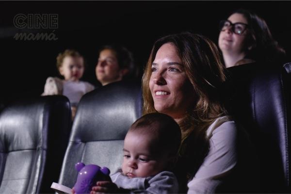 Yendo al cine con el baby