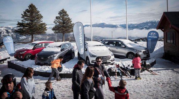 Hyundai disfruta de la nieve