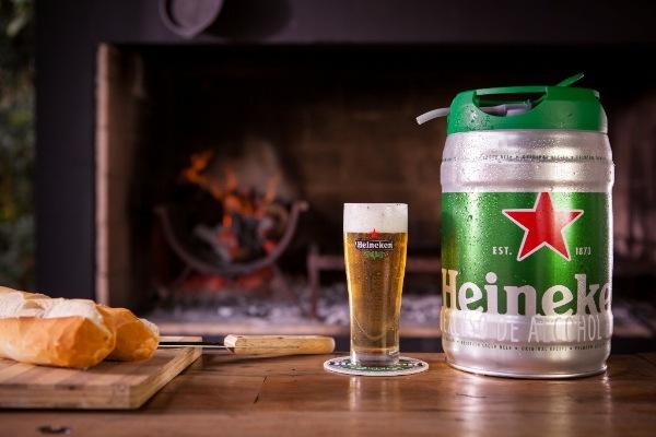 Cerveza tirada en casa