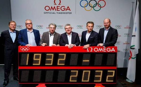 100 años como cronometrador oficial