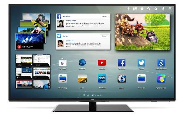 Smart TV UHD de 55 pulgadas