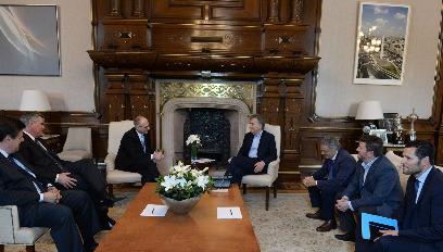 Encuentro con el presidente Macri