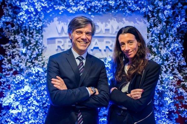 Jimena Faena y Luis Mirabelli